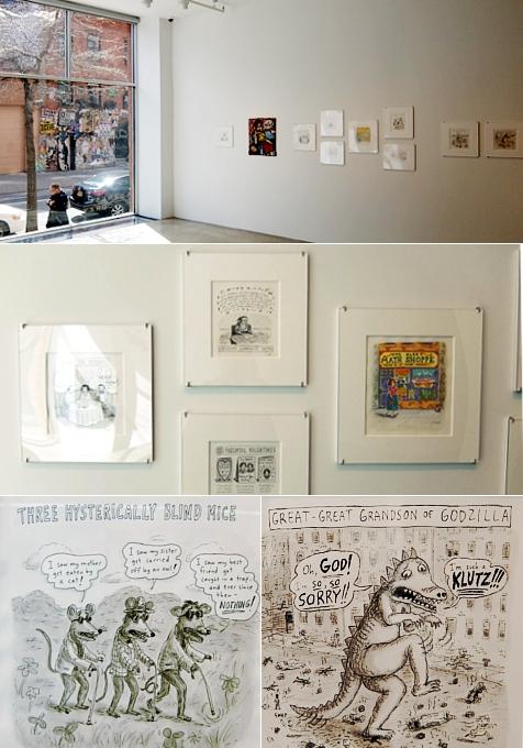 アメリカを代表する漫画家の一人、Roz Chastさんの個展 Something More Pleasant_b0007805_22251111.jpg