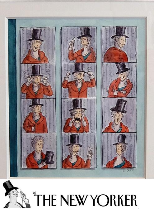 アメリカを代表する漫画家の一人、Roz Chastさんの個展 Something More Pleasant_b0007805_2235444.jpg