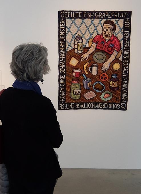 アメリカを代表する漫画家の一人、Roz Chastさんの個展 Something More Pleasant_b0007805_2244218.jpg