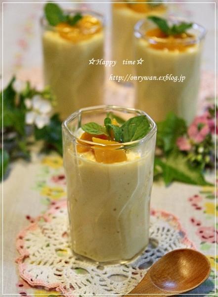 チキンカツカレー弁当とマンゴープリン♪_f0348032_18305601.jpg