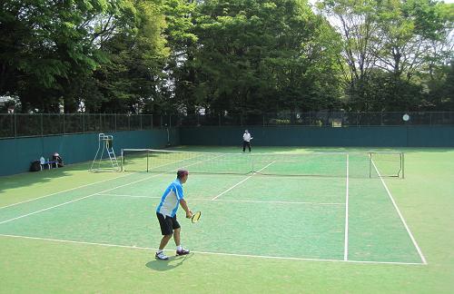 千葉市テニス選手権、ベテランシングルスに参加_a0151444_1704158.jpg