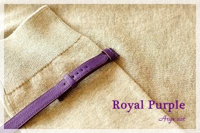 大人の色「ロイヤルパープル」_c0243369_2311117.jpg