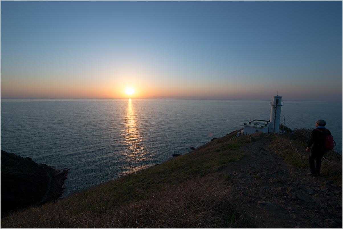 佐渡に沈む夕日を見ていた日 watching the sundown #Nikon Df #LEICA V-LUX_c0065410_18444134.jpg