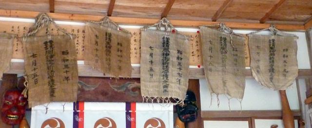 (14)綾部八幡神社3 旗で気象を占う_c0222861_2243368.jpg