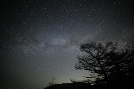 夜中に見られる天の川_e0120896_07525716.jpg