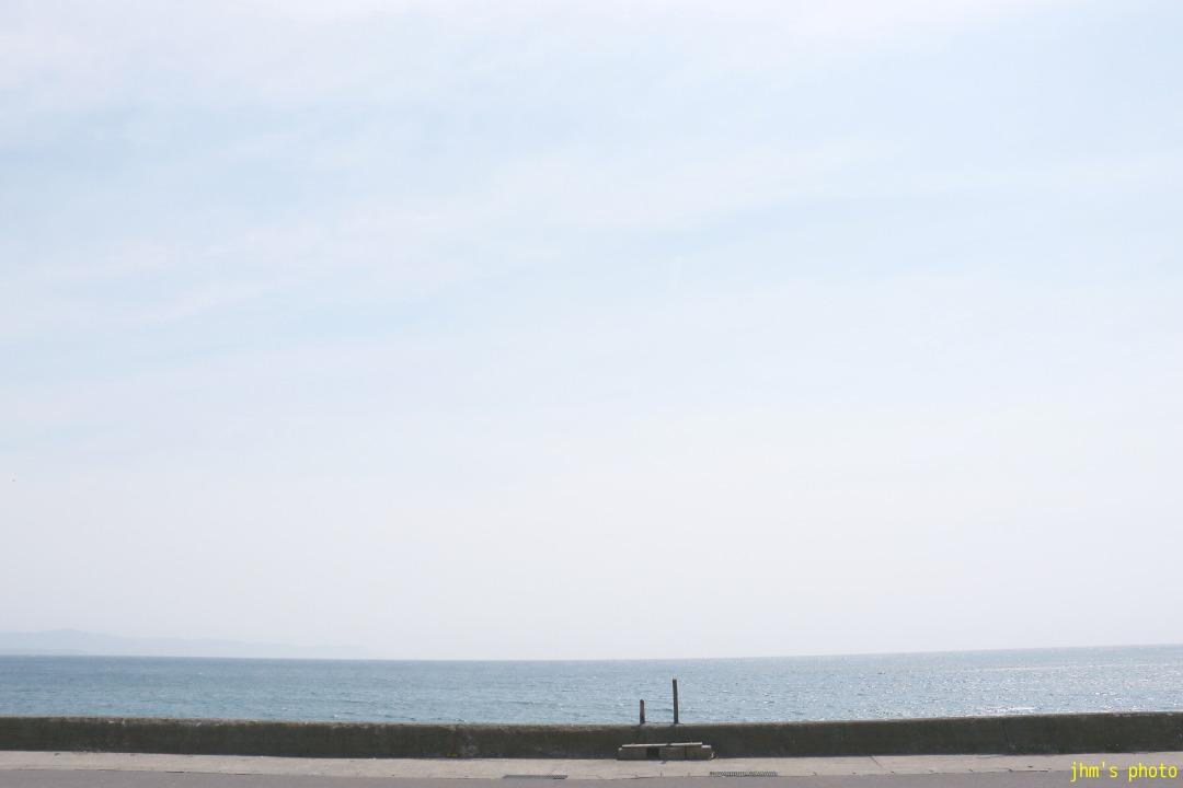 何もない大森浜の海_a0158797_22352566.jpg