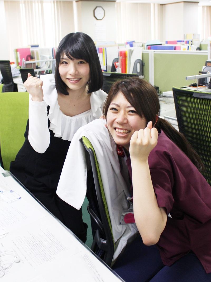 研修医5週間目の先生たち かわいい顔してやり手な2人♪ : 長崎大学病院