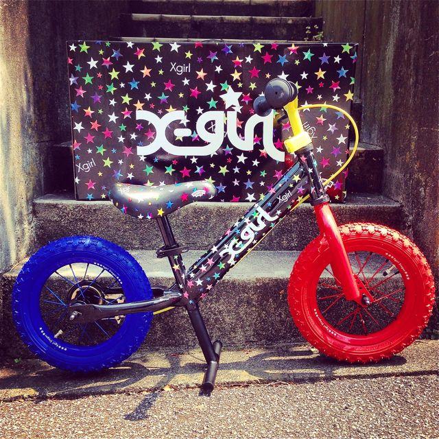 キックバイク「X-girl Stages」x「BROTHER FOOT」 バランスクルーザー ストライダー 自転車 おしゃれ 子供_b0212032_21212332.jpg