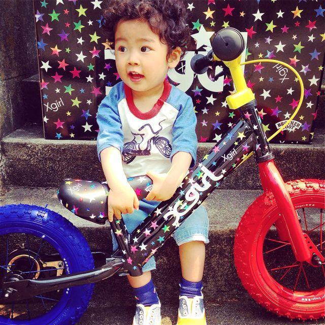 キックバイク「X-girl Stages」x「BROTHER FOOT」 バランスクルーザー ストライダー 自転車 おしゃれ 子供_b0212032_21224923.jpg