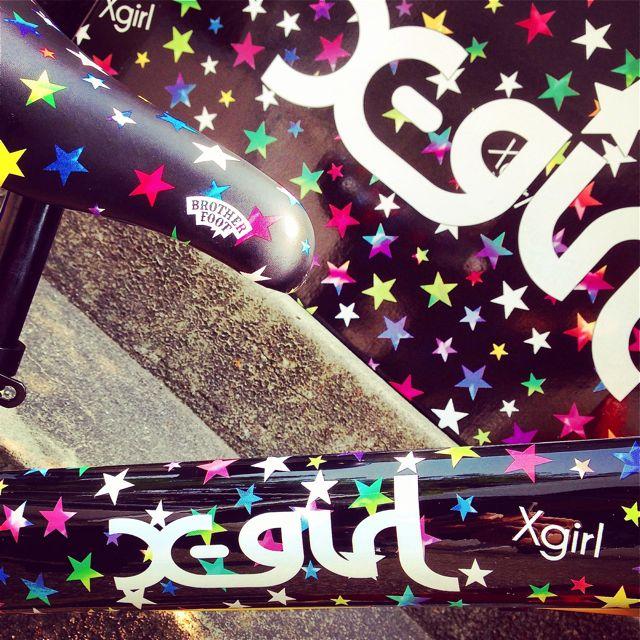 キックバイク「X-girl Stages」x「BROTHER FOOT」 バランスクルーザー ストライダー 自転車 おしゃれ 子供_b0212032_21234578.jpg