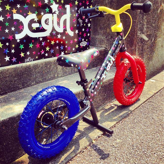キックバイク「X-girl Stages」x「BROTHER FOOT」 バランスクルーザー ストライダー 自転車 おしゃれ 子供_b0212032_2123683.jpg