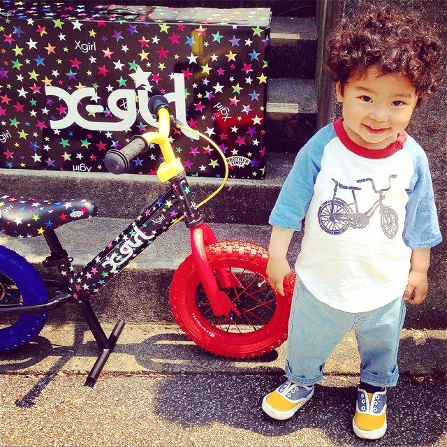 キックバイク「X-girl Stages」x「BROTHER FOOT」 バランスクルーザー ストライダー 自転車 おしゃれ 子供_b0212032_21244574.jpg