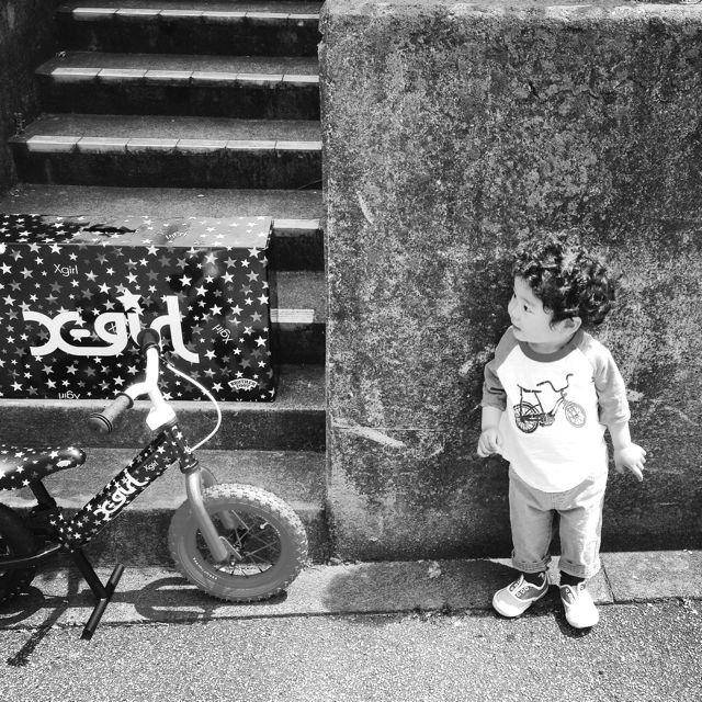 キックバイク「X-girl Stages」x「BROTHER FOOT」 バランスクルーザー ストライダー 自転車 おしゃれ 子供_b0212032_21265374.jpg