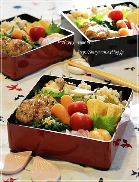 筍とわらびの炊き込みご飯弁当とはじめました~♪_f0348032_19254889.jpg