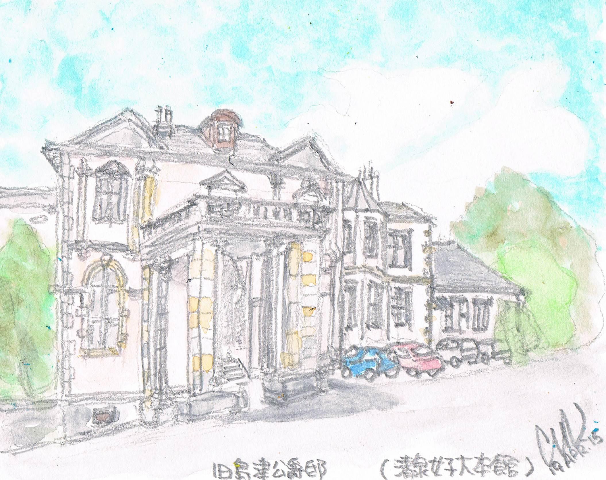 竣工100年 旧島津公爵邸_e0232277_10185289.jpg