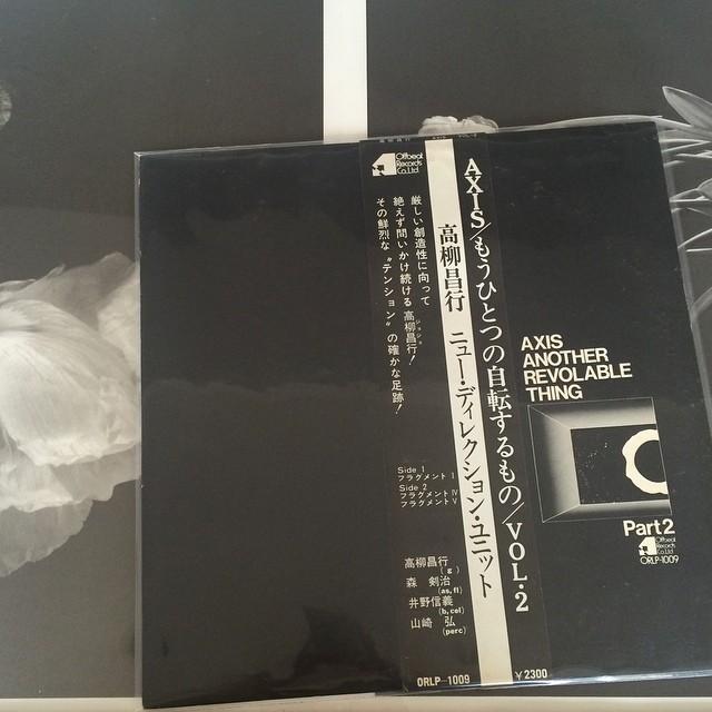 今日のレコード/ジョジョ!高柳昌行_f0170995_2116364.jpg