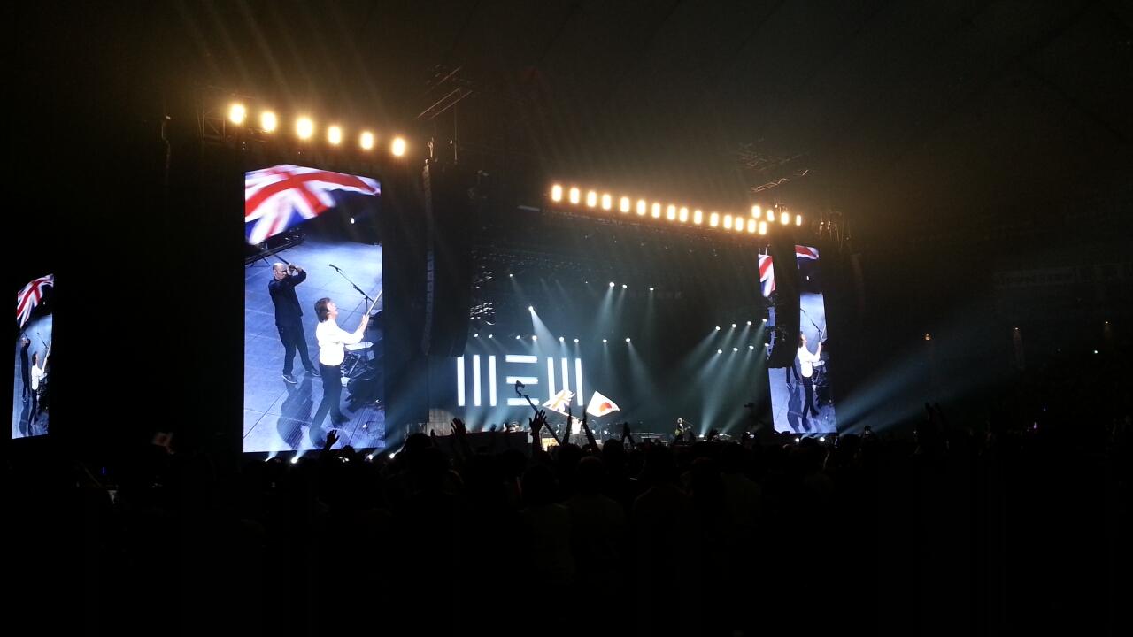 PAUL McCARTNEY OUT THERE JAPAN TOUR 2015 東京三日目@東京ドーム_b0042308_753376.jpg