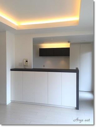 完成間近のキッチン_c0243369_2146506.jpg