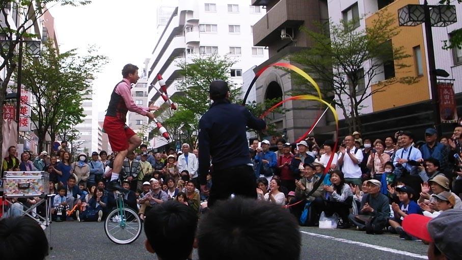 大道芸_b0061387_1032131.jpg