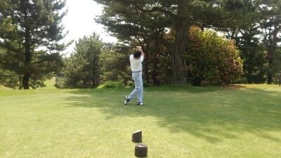 今日は、ゴルフコンペです。_e0119092_1151324.jpg