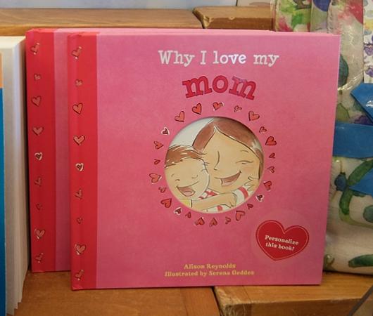 ニューヨークの本屋さんで見かけた「母の日」関連本コーナー_b0007805_0504187.jpg