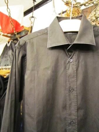 今夜はヨガレッスンのためHERMES、GUCCIのシャツ紹介です(関係ない)_f0180307_21312804.jpg