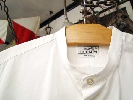 今夜はヨガレッスンのためHERMES、GUCCIのシャツ紹介です(関係ない)_f0180307_21315572.jpg