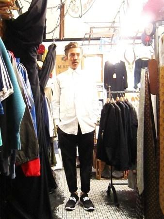 今夜はヨガレッスンのためHERMES、GUCCIのシャツ紹介です(関係ない)_f0180307_21340809.jpg