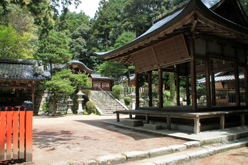 鷺森神社 新緑_e0048413_18543955.jpg