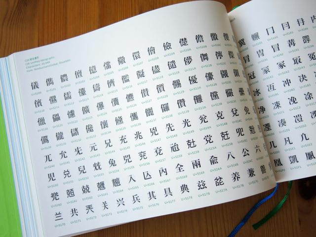 『世界の文字と記号の大図鑑』_e0175918_14574524.jpg