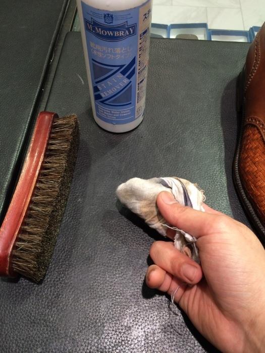 メッシュレザーの靴のお手入れには?_b0226322_10445507.jpg