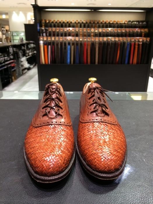 メッシュレザーの靴のお手入れには?_b0226322_10452225.jpg