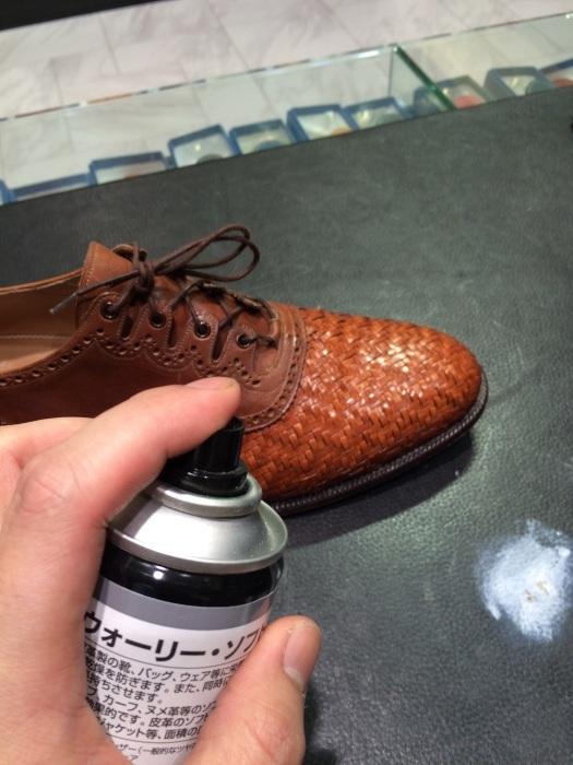 メッシュレザーの靴のお手入れには?_b0226322_11101915.jpg