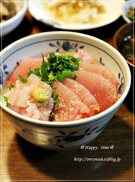すずらんと鉄火丼♪_f0348032_19435023.jpg