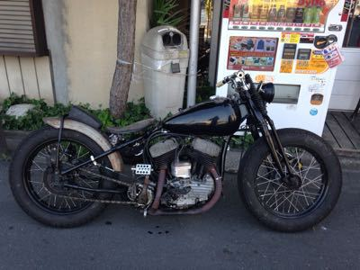 本日のバイク‼︎_f0194657_1774747.jpg
