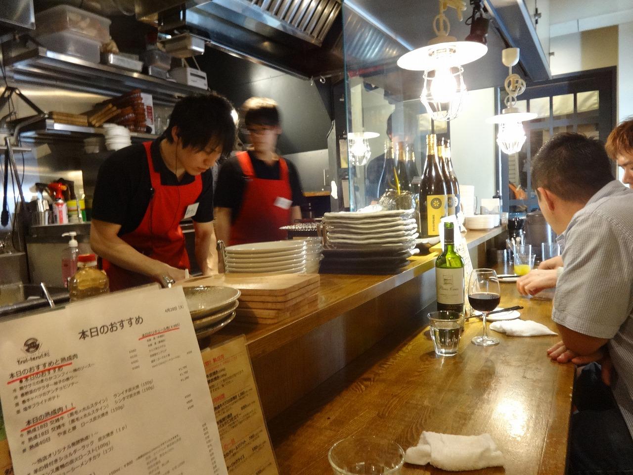 昨日、中野で熟成肉→80'Sバー→朝霞台スポーツカフェ_d0061678_20242352.jpg