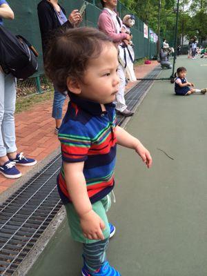 テニスに挑戦!_f0166486_18193891.jpg
