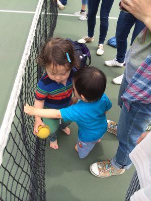 テニスに挑戦!_f0166486_18193973.jpg