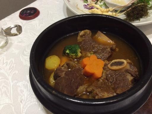 おしゃれな韓定食_b0210699_22402739.jpg