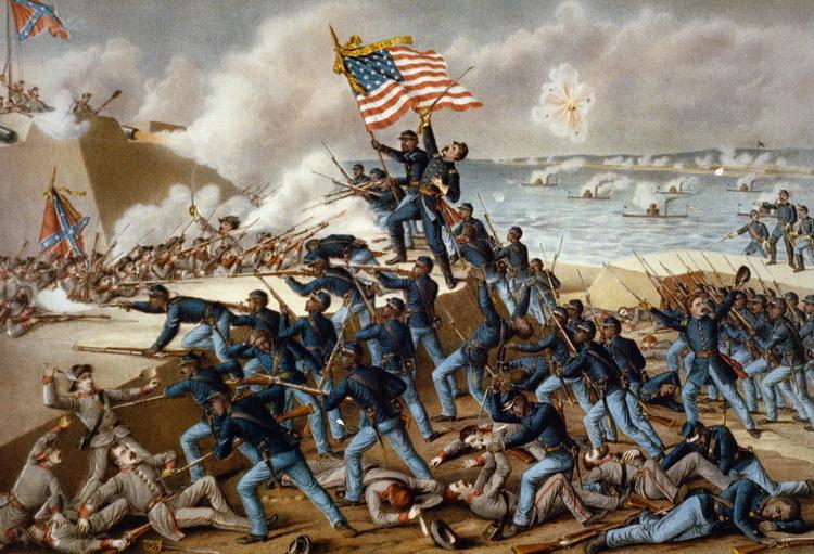 1863 7月18日 麻薩諸塞州自願步兵團第54兵團_e0040579_19482752.jpg