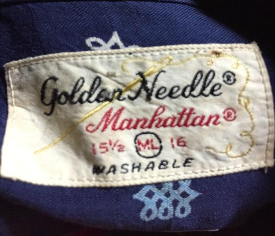 5/2(土)入荷!ゴールデンウィーク第2弾!All cotton 60'S Manhattan shirts!_c0144020_1646028.jpg