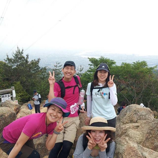 はじめての六甲山登山→灘温泉→バルザル→アムアムホウ→バール_a0251762_17573639.jpg
