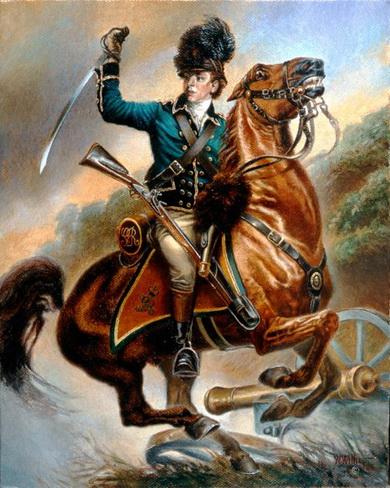 美國獨立戰爭-英國最強悍將 塔爾頓_e0040579_16404036.jpg
