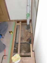 洗面所改装工事_e0190287_19531466.jpg