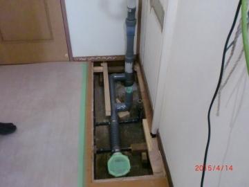 洗面所改装工事_e0190287_19552918.jpg