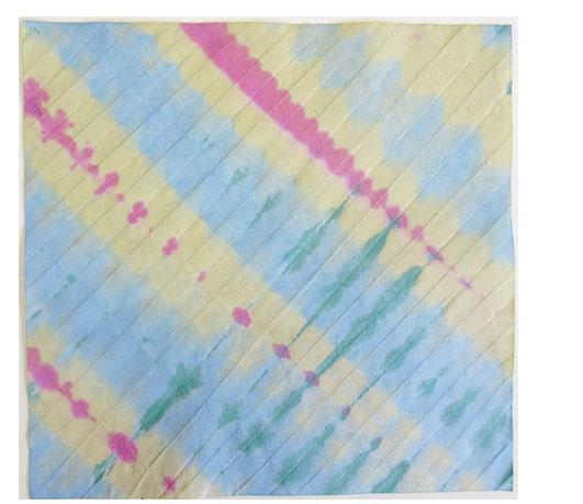 折り染め・たたみ染め ひろがる色の世界・小学生クラス _f0211514_19475120.jpg