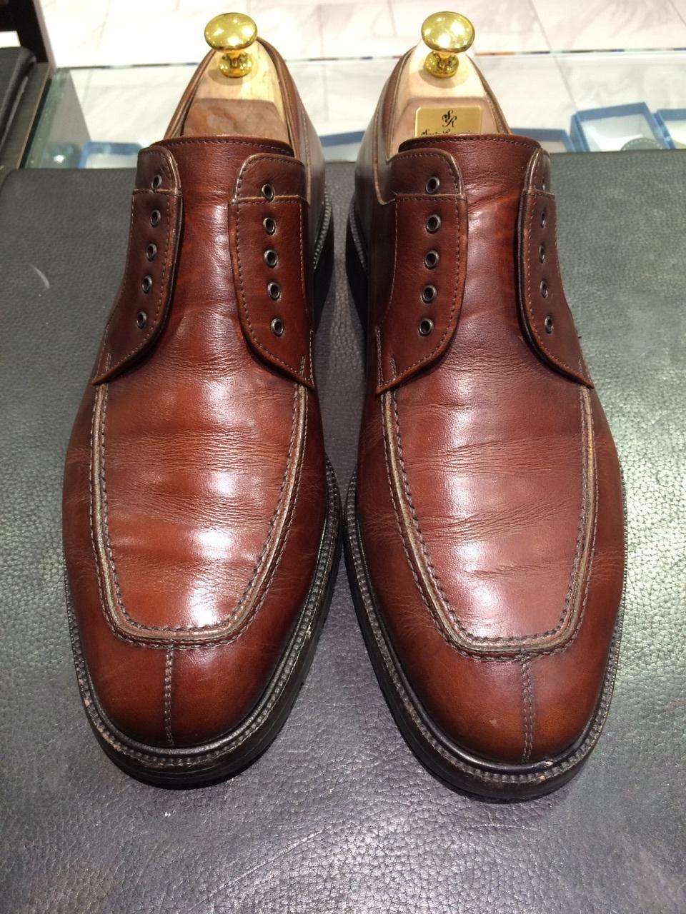 茶色の靴にはどっちのクリーム?_b0226322_13025355.jpg
