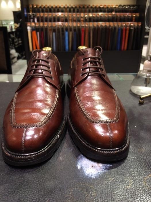 茶色の靴にはどっちのクリーム?_b0226322_13031890.jpg