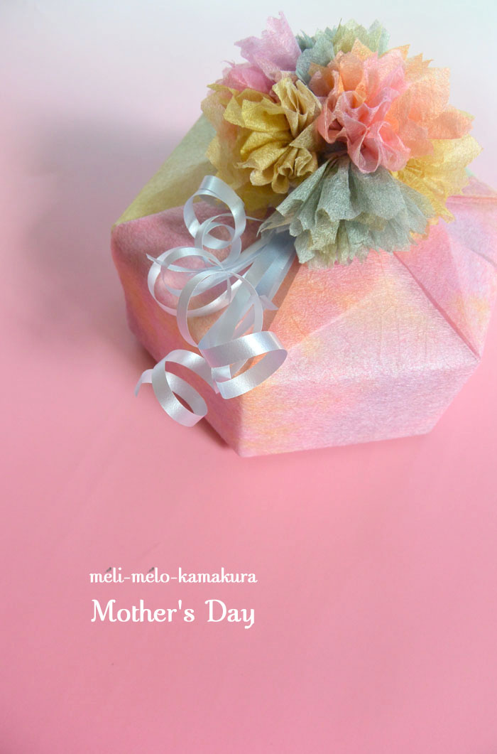 ◆Wrapping*Mother\'s Day_f0251032_17225398.jpg