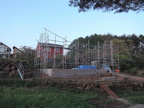 高根町K本さん邸の現場より 10_a0211886_23192230.jpg